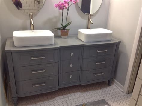 Dresser Sink Vanity the best dresser turned sink hacks through the front door