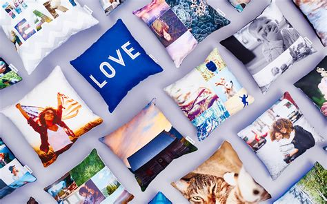 Collage Photo Pillow create custom photo pillows collage