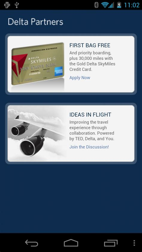 delta app android fly delta android app updated to ease international travel android central