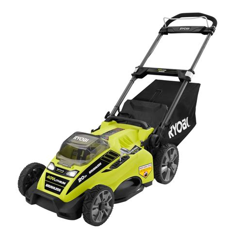 ryobi 40v 20 inch brushless lawn mower the home depot canada