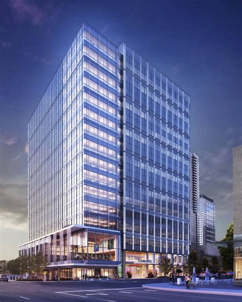 Large Garage Designs amazon lines up eastside office building with room for a
