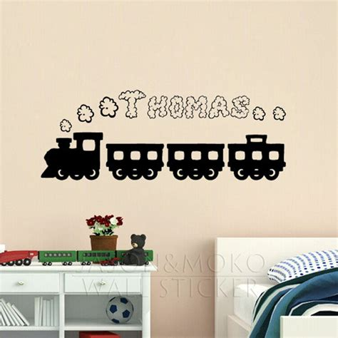 wall stickers for boys rooms creative smoke personalised customized name wall