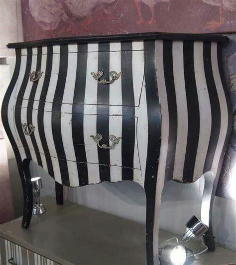 Black And White Dresser Black And White Striped Dresser Home