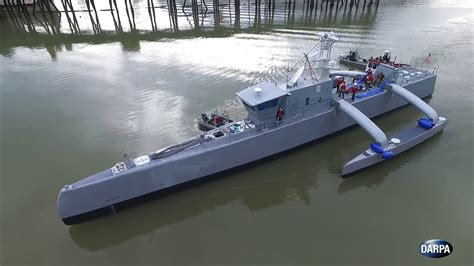 where are sea hunt boats made 数か月間の無人自律航行が可能で潜水艦を探知する対潜無人艦 sea hunter gigazine