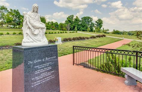 heritage to consecrate pieta in its memorial garden news