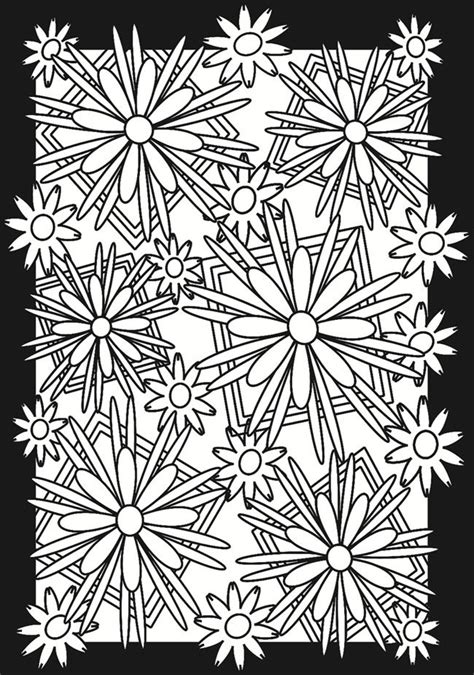 fractal coloring pages printable fractal best free