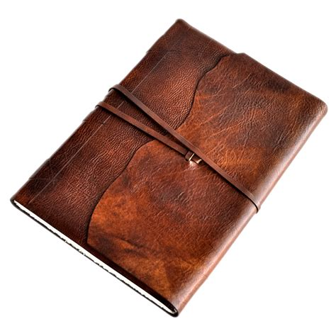 sketch book leather cover luxury world leather wrap sketchbook with amalfi paper