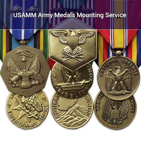 Army Rack Builder With Badges by Usamm Army Medals Mounting Service