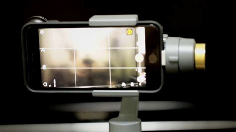 dji osmo mobile  iphone    distortion wide