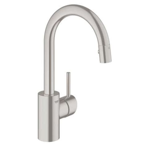 grohe concetto kitchen faucet grohe concetto single handle pull down sprayer kitchen