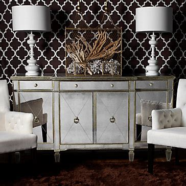 z gallerie borghese dining table borghese mirrored buffet