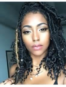 black goddess hairstyles love this faux locs look locs pinterest faux locs locs and hair style
