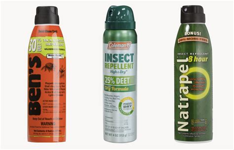 best deet insect repellent the best insect repellents for in 2016