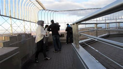 empire state building 86th floor observation deck youtube
