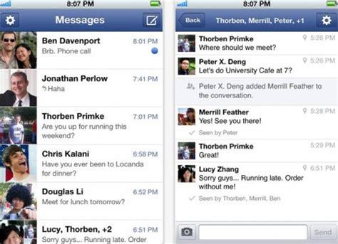 imagenes nuevas en facebook facebook messenger ya tiene nuevas versiones para android