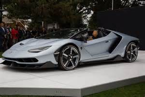 Lamborghini Roadster Lamborghini Centenario Roadster Officially Unveiled At