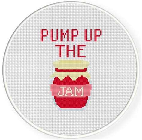 pattern jam review pump up the jam cross stitch pattern daily cross stitch