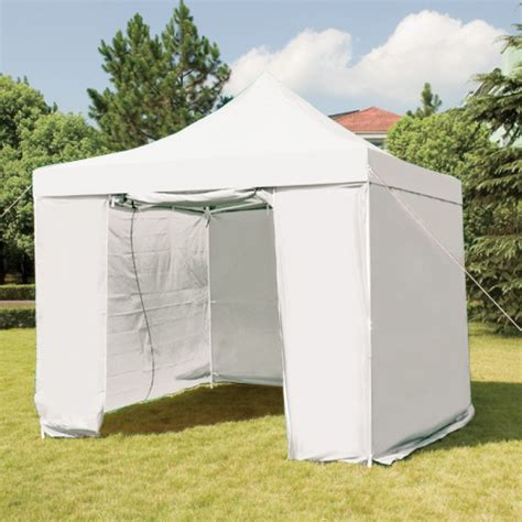 Rabbit Hutches Online 3mx3m Folding Gazebo Marquee Pop Up Outdoor Canopy White