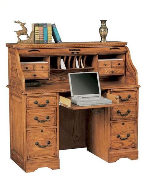 Top Computer Desk by Winners Only Roll Top Computer Desk Home Furniture Design