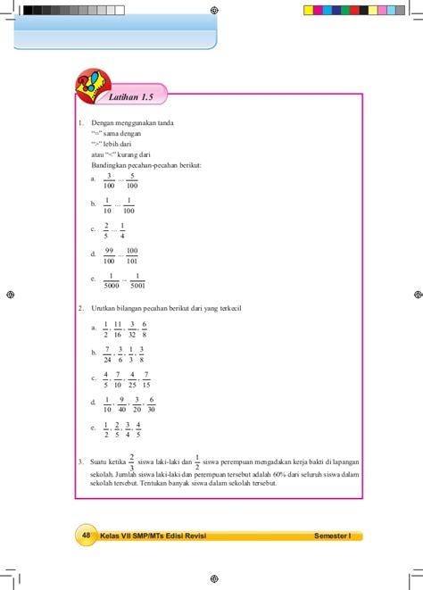 Buku Matematika Kls 7 Semester 1 Smp Mts K13 Revisi 2017 buku matematika 7 smp mts semester 1 siswa