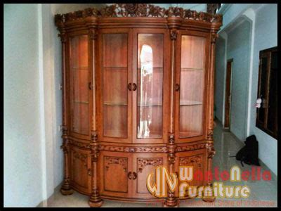 Almari Hias Jati Furniture Almari Lemari Hias lemari hias jati ak 04 mebel kayu jati almari hias wantonella furniture jepara