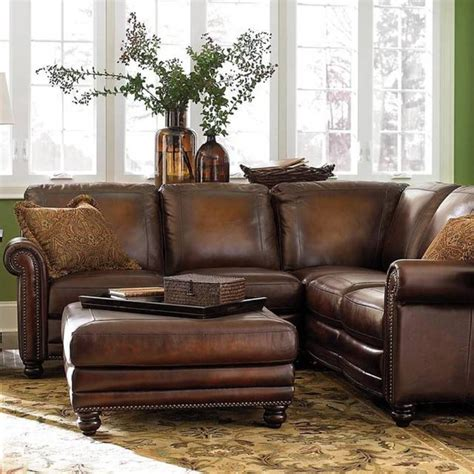 small scale leather sectional sofa small sectional sofa leather small leather reclining