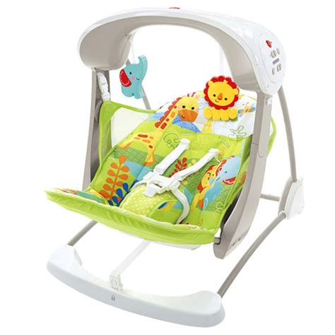 fisher price rainforest friends space saver swing rainforest friends take along swing seat