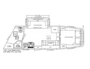 Horse Trailer Floor Plans by Living Quarter Horse Trailer 14 Short Wall With Sofa