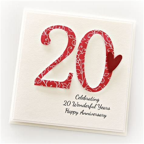 20 Wedding Anniversary Gifts Uk   Gift Ftempo