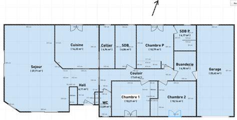maisons 4 chambres plan de construction de