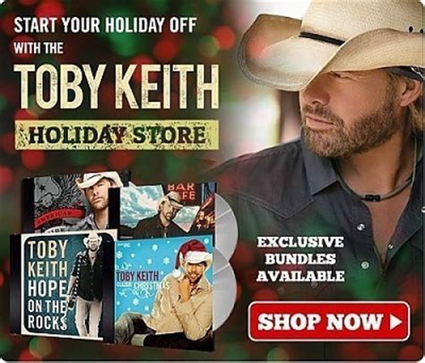 toby keith christmas album toby keith gt news gt shop toby keith s holiday store for