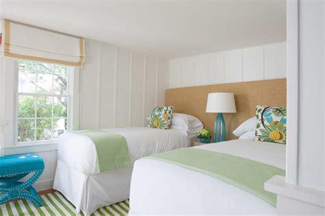 shared headboard cottage bedroom rachel reider interiors