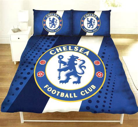 Chelsea Set Seprei Cover Azni official chelsea fc football club crest duvet quilt