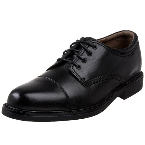 dockers gordon cap toe oxford shoes dockers gordon cap toe oxfords in black for lyst