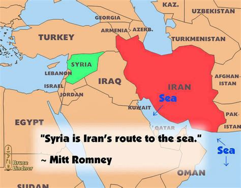 map of iran and syria the blueprint for wwiii