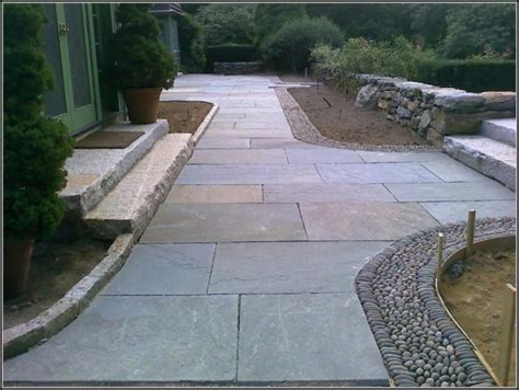 flagstone patio installation from start to finish patios
