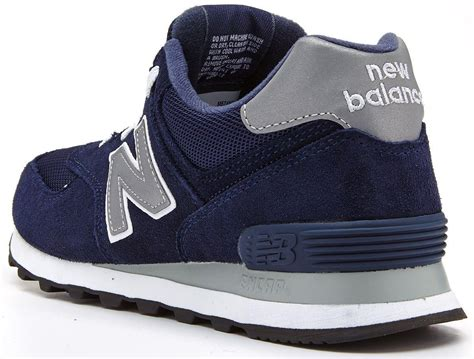 New Balance Go Indonesia 1 new balance classic retro running navy blue grey trainers ml 574 nn ebay