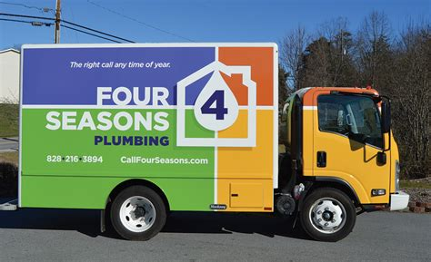 Asheville Plumbing by Truck Of The Month Four Seasons Plumbing Asheville N C
