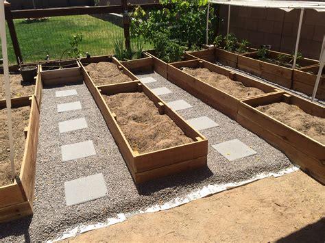 building redwood raised garden beds handmade and homegrown