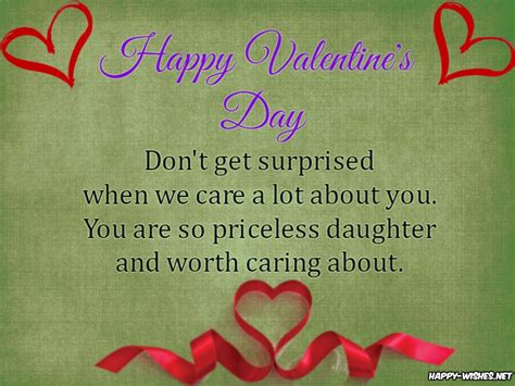 valentines for daughters happy s day wishes for happy wishes