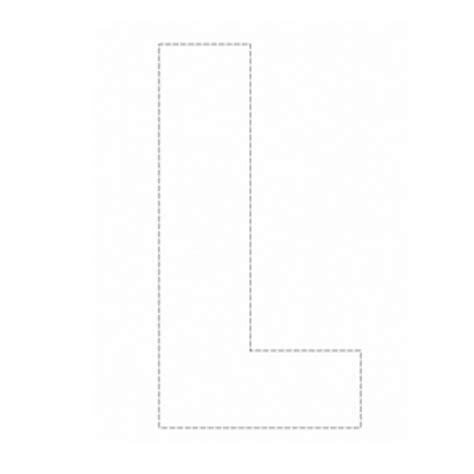 outline capital a images for gt capital letter l template