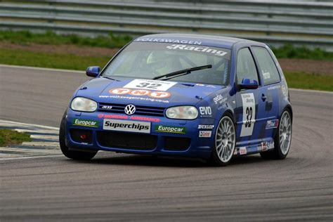 volkswagen race car vw golf mk4 1998 2004