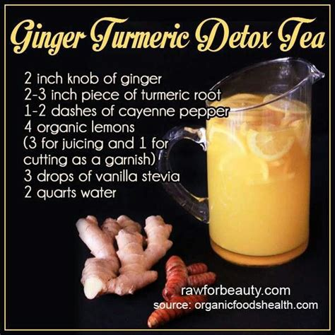 Detox Tea Recipes by Turmeric Detox Tea How To Eat Be Healthy