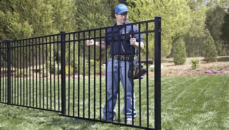 fence sections at lowes wrought iron fence best images collections hd for gadget