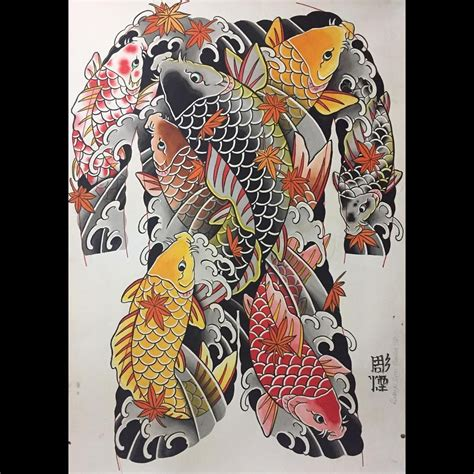 irezumi tattoo intervention bodysuit koi japonesetattoo