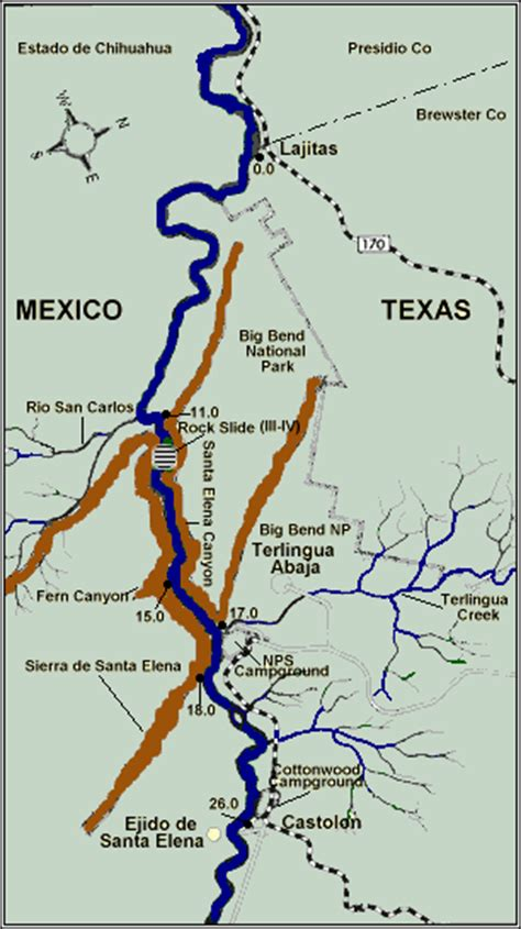 grande texas map santa of the grande texas