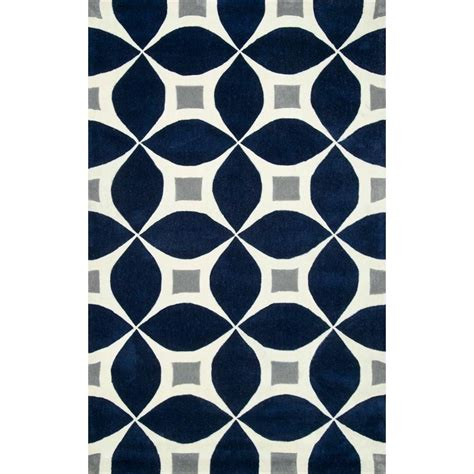 7 Ft Rug nuloom gabriela navy 7 ft 6 in x 9 ft 6 in area rug bhbc55f 76096 the home depot