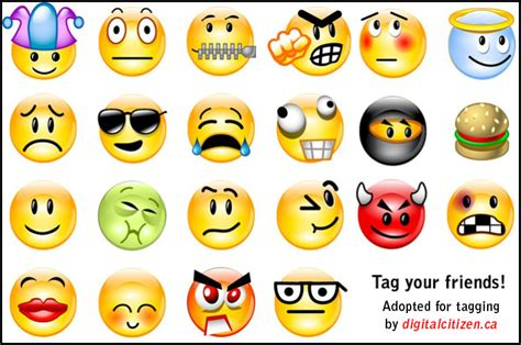 Memes Emoticons - emoticons and smileys facebook picture tagging memes