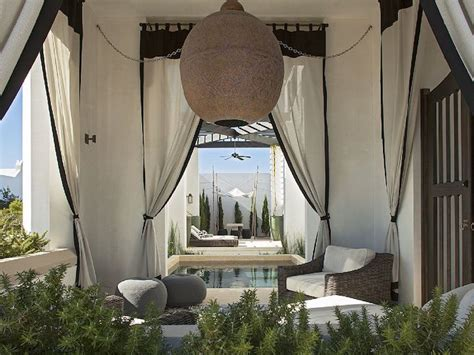 black outdoor curtains mediterranean patio features doorways dressed in black and