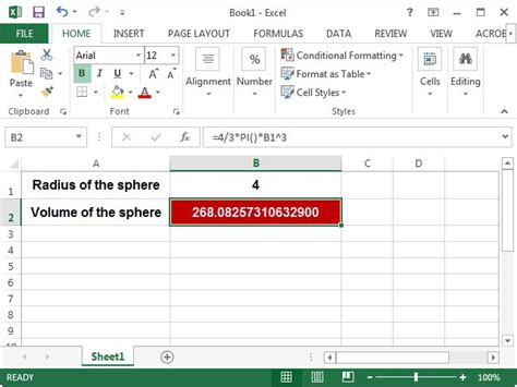 Credit Capacity Formula How To Use Pi In Excel Techwalla